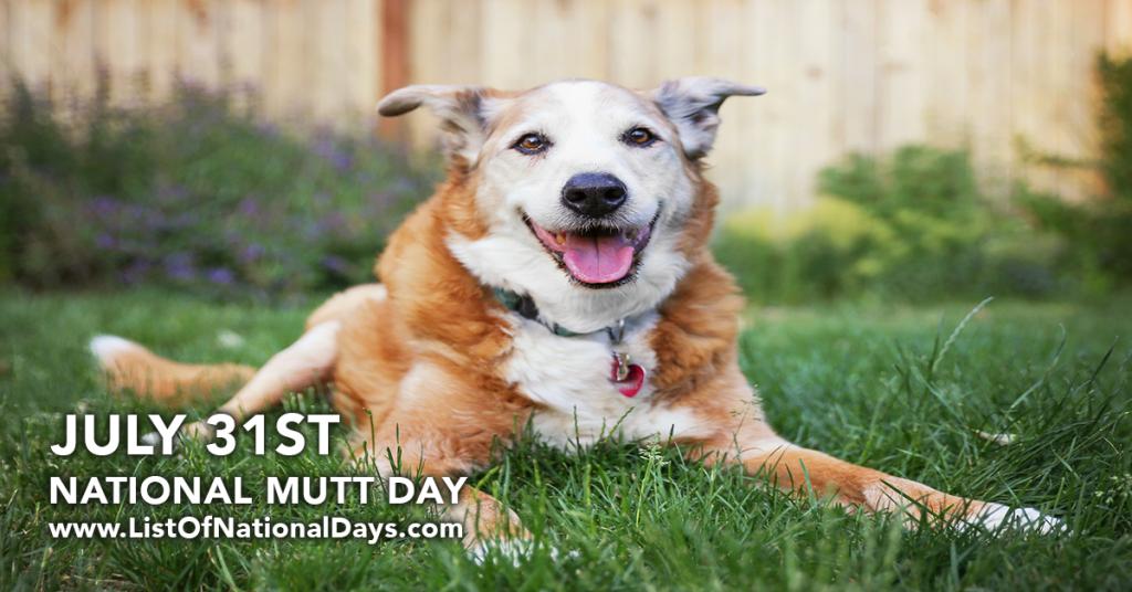 NATIONAL MUTT DAY