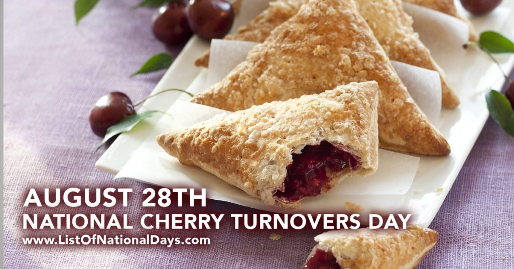 NATIONAL CHERRY TURNOVERS DAY