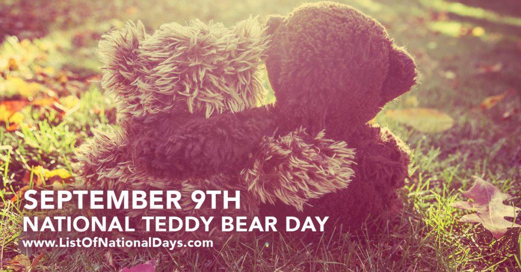 september-9-national-teddy-bear-day