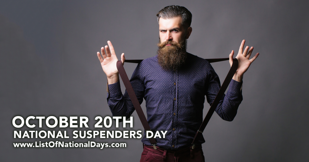 NATIONAL SUSPENDERS DAY
