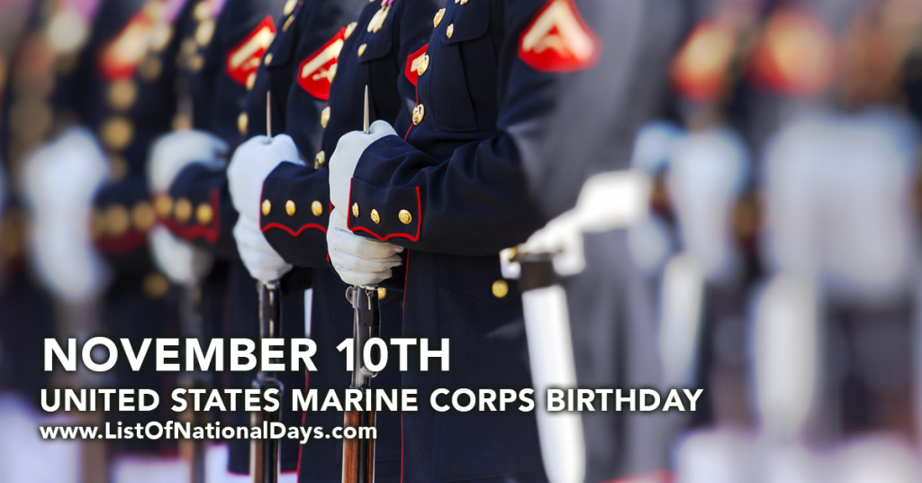 UNITED STATES MARINE CORPS BIRTHDAY