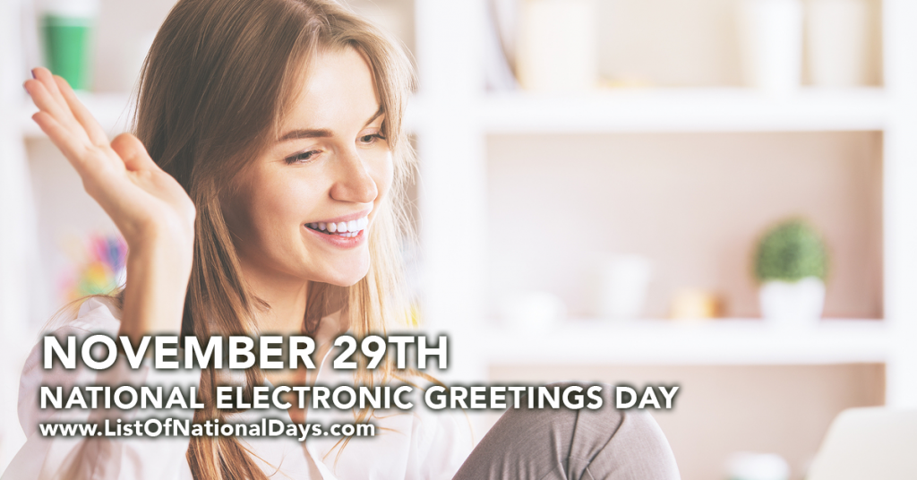 NATIONAL ELECTRONIC GREETINGS DAY