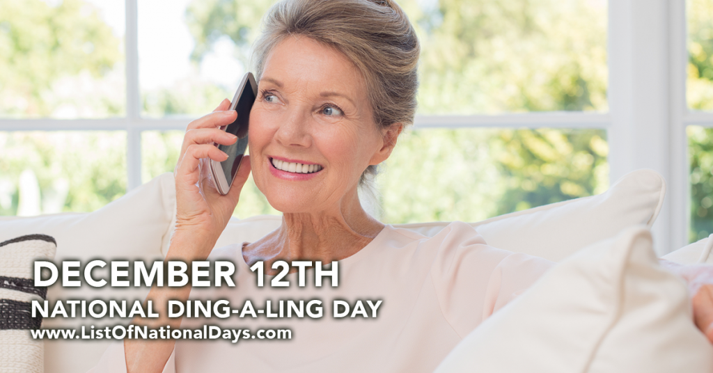 NATIONAL DING-A-LING DAY