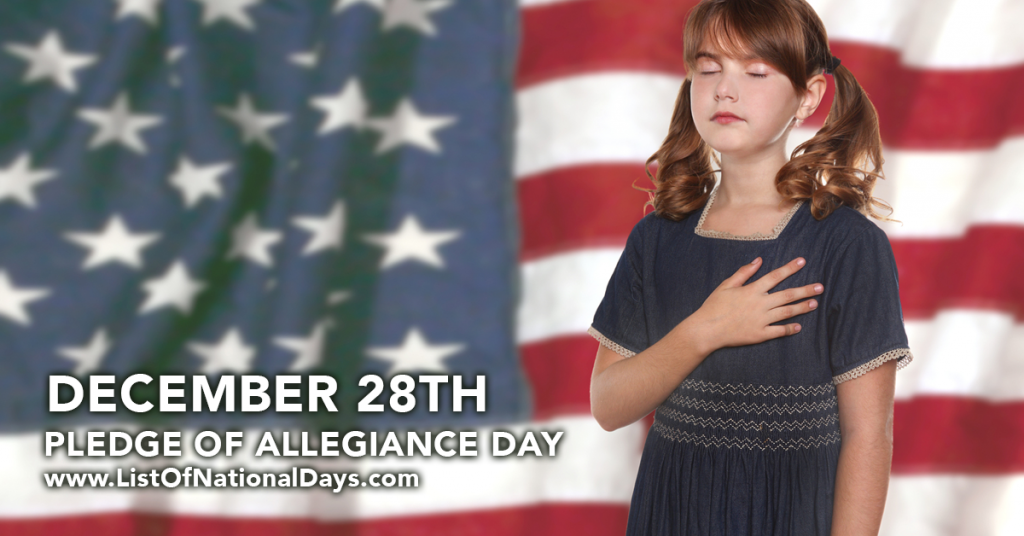 PLEDGE OF ALLEGIANCE DAY