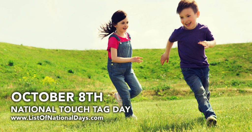 NATIONAL TOUCH TAG DAY