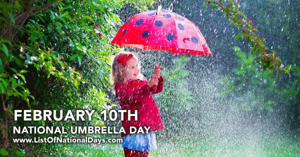 NATIONAL UMBRELLA DAY