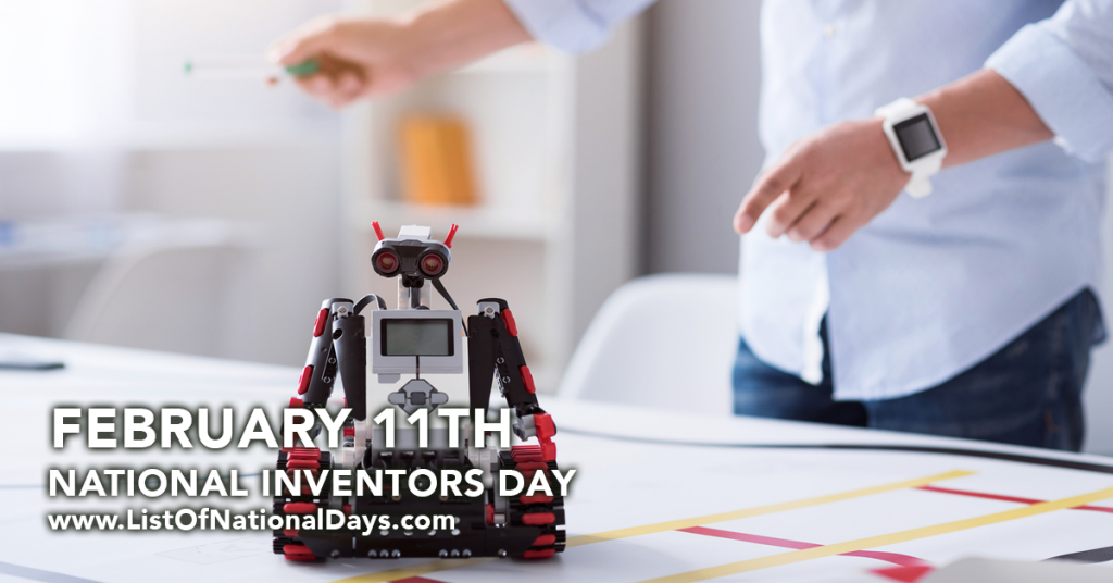 NATIONAL INVENTORS DAY