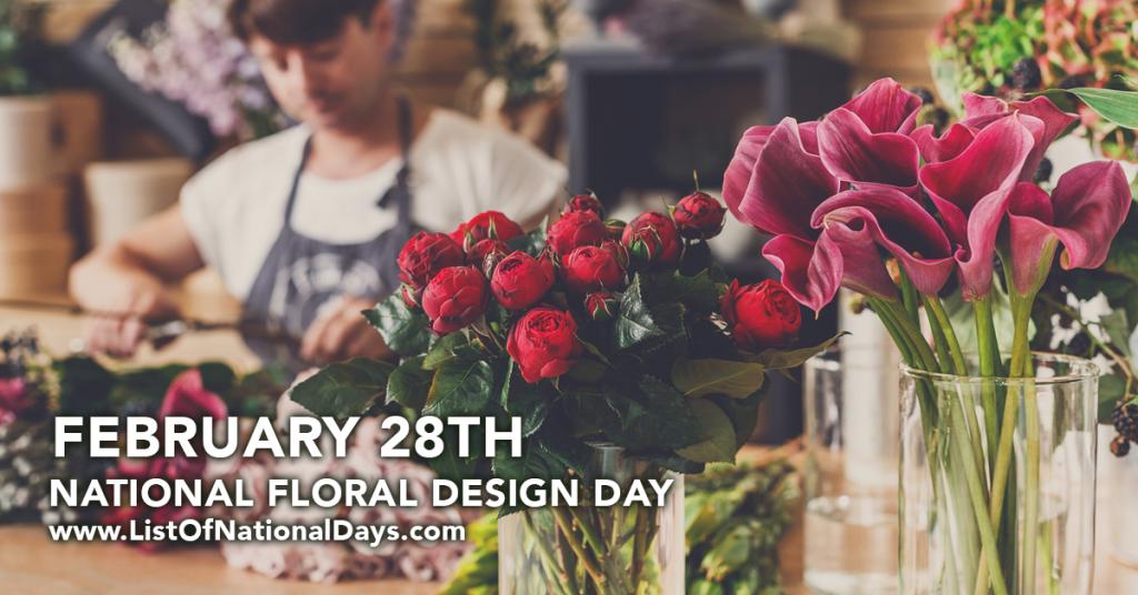 NATIONAL FLORAL DESIGN DAY