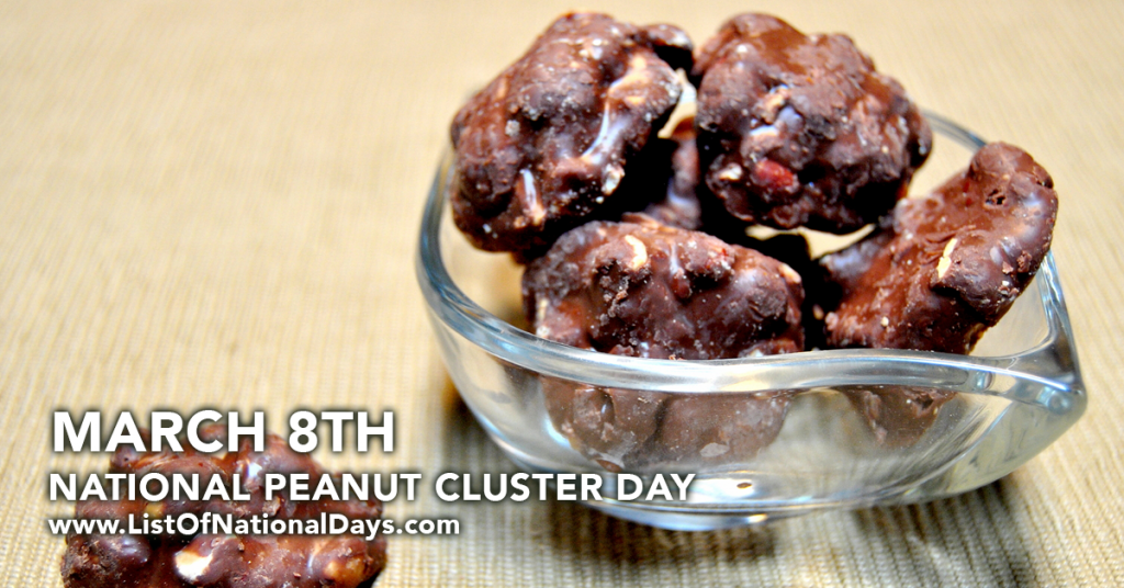 NATIONAL PEANUT CLUSTER DAY