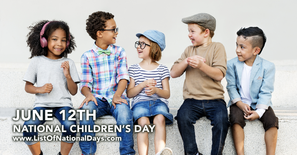 NATIONAL CHILDREN'S DAY