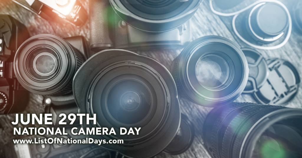 NATIONAL CAMERA DAY