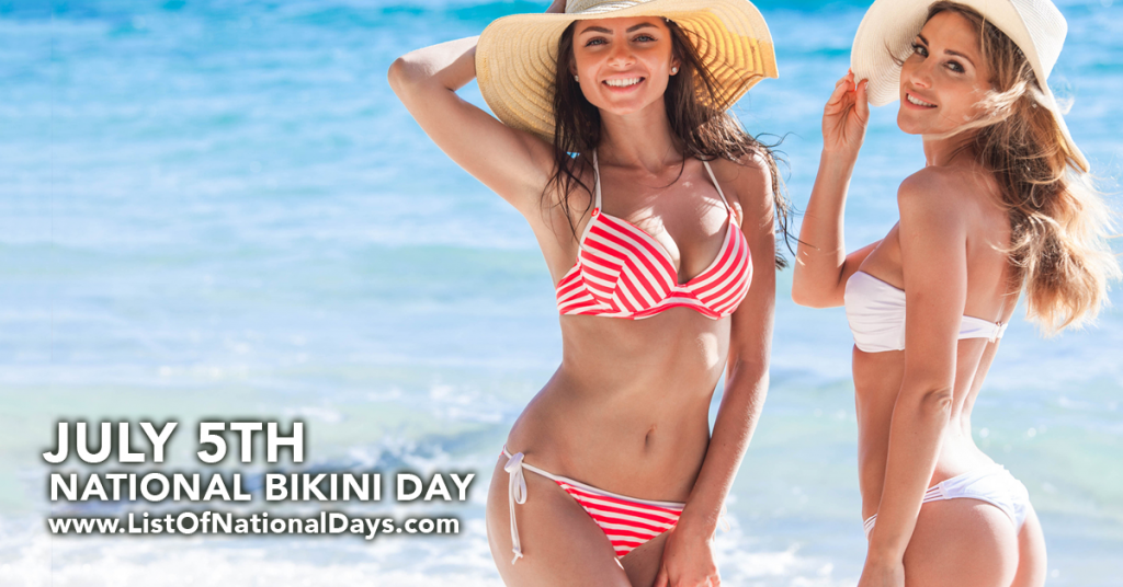 NATIONAL BIKINI DAY