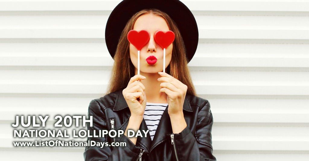 NATIONAL LOLLIPOP DAY