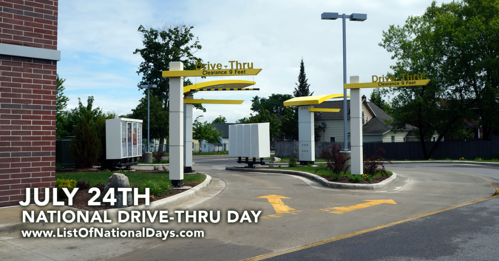 NATIONAL DRIVE-THRU DAY