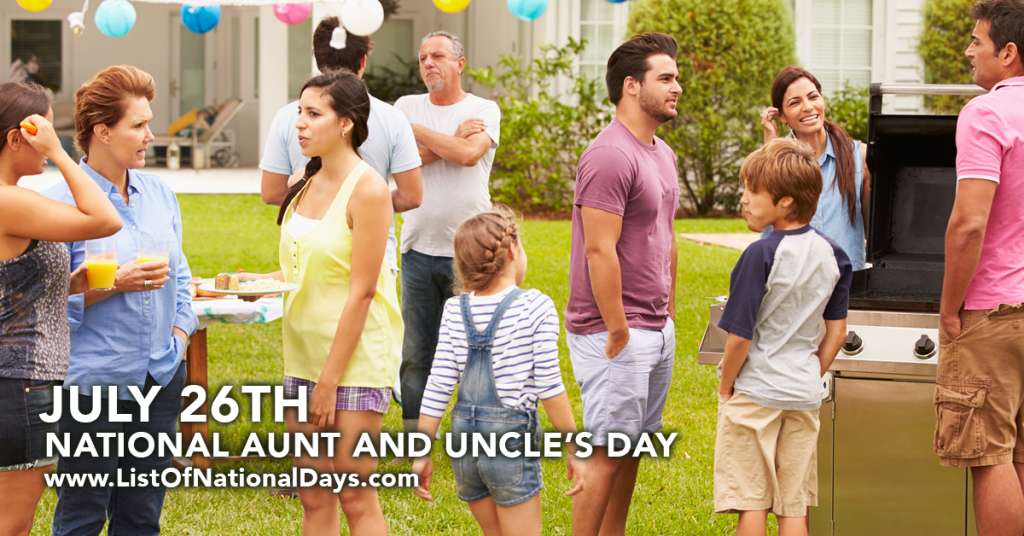 NATIONAL AUNT AND UNCLE'S DAY