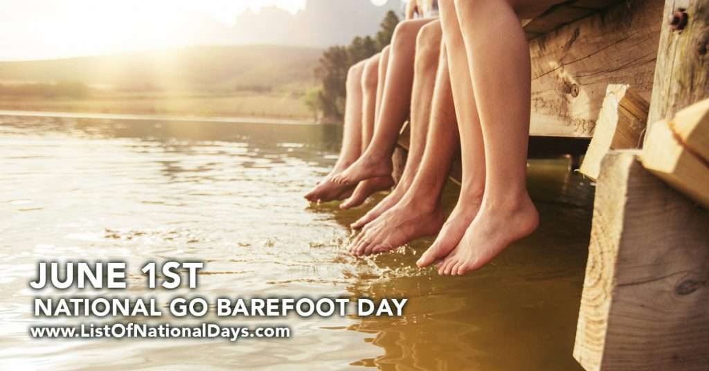 NATIONAL GO BAREFOOT DAY