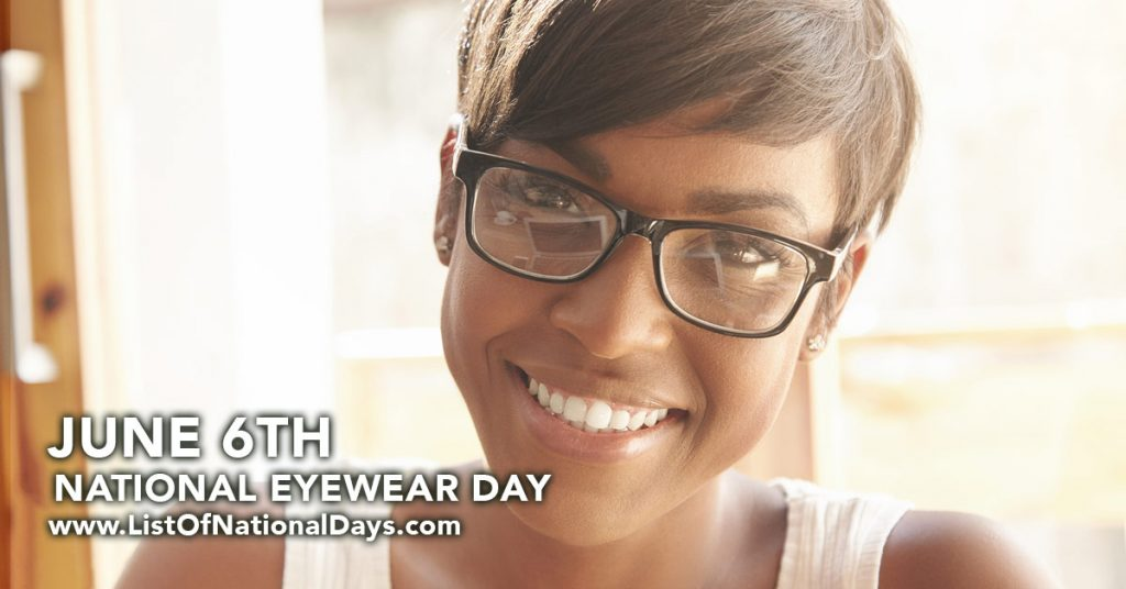 NATIONAL EYEWEAR DAY