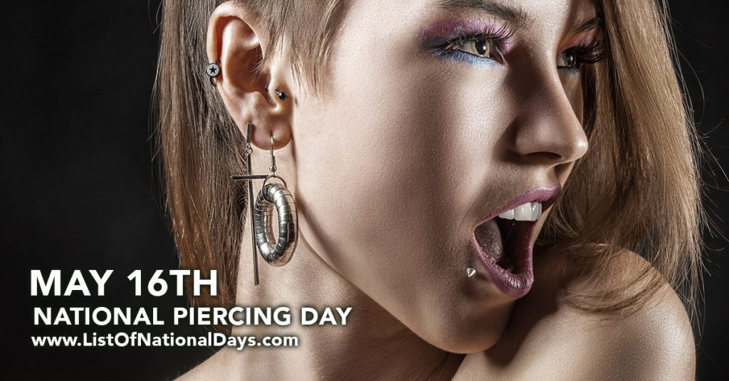 NATIONAL PIERCING DAY