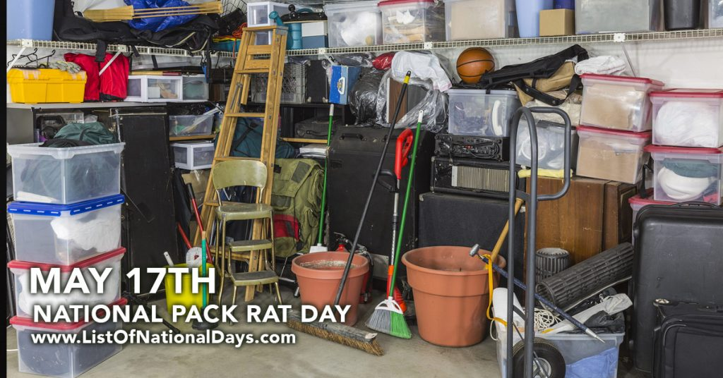 NATIONAL PACK RAT DAY