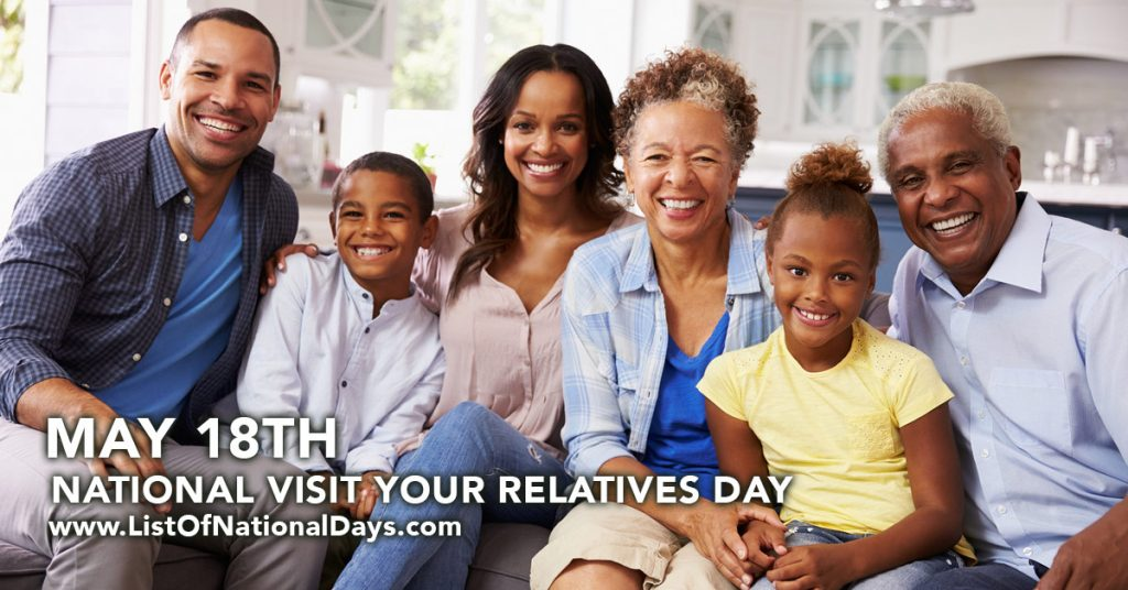 NATIONAL VISIT YOUR RELATIVES DAY