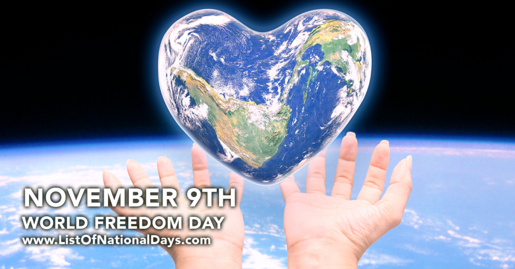 WORLD FREEDOM DAY
