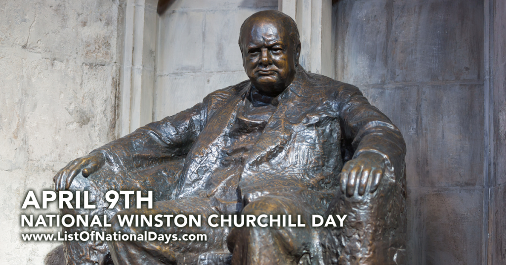 NATIONAL WINSTON CHURCHILL DAY