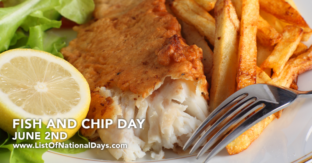 FISH AND CHIP DAY