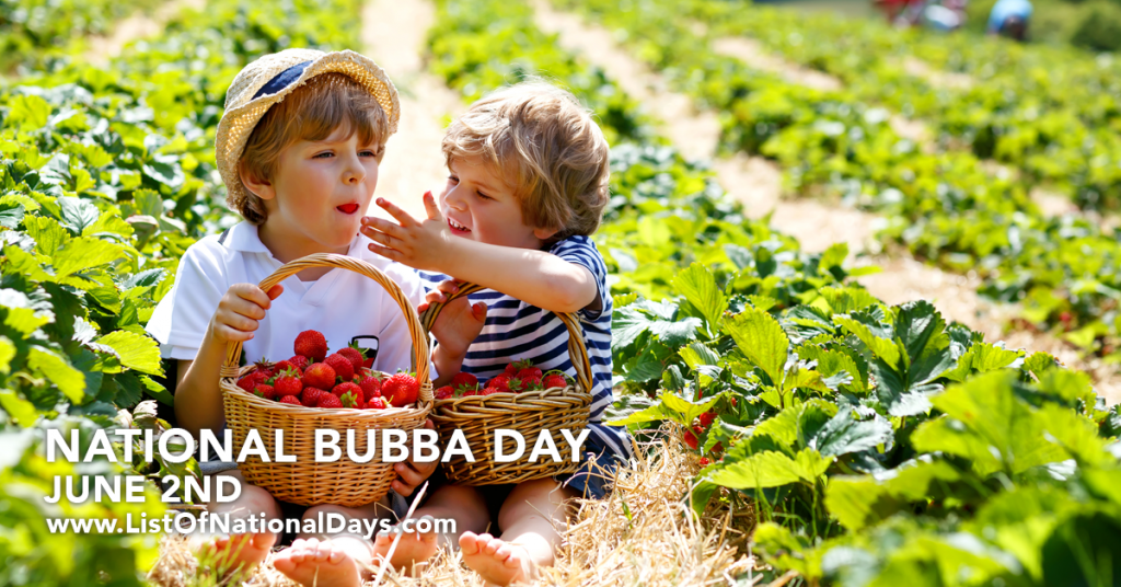 NATIONAL BUBBA DAY