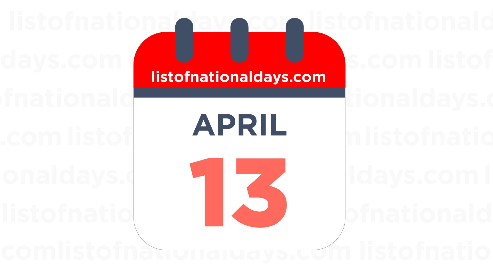 13. April