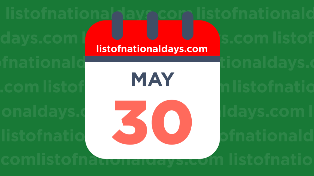 Image for MAY 30TH