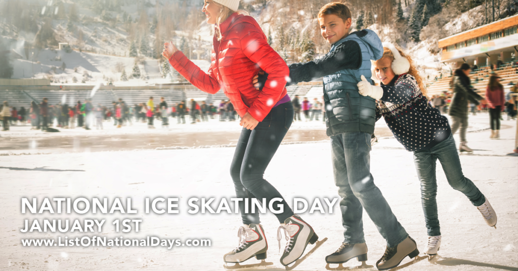 NATIONAL ICE SKATING DAY