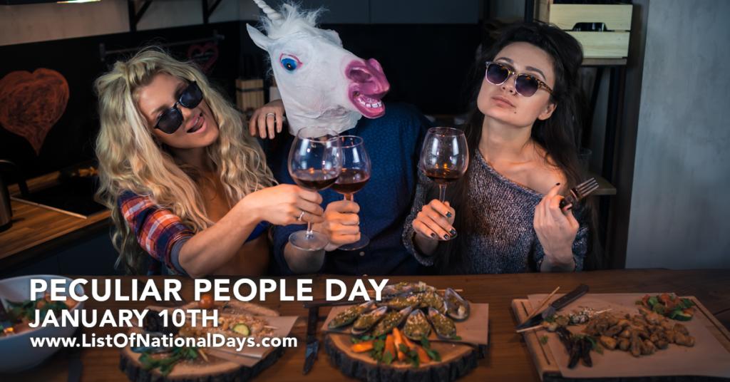 PECULIAR PEOPLE DAY