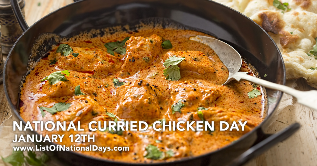 CURRIED CHICKEN DAY