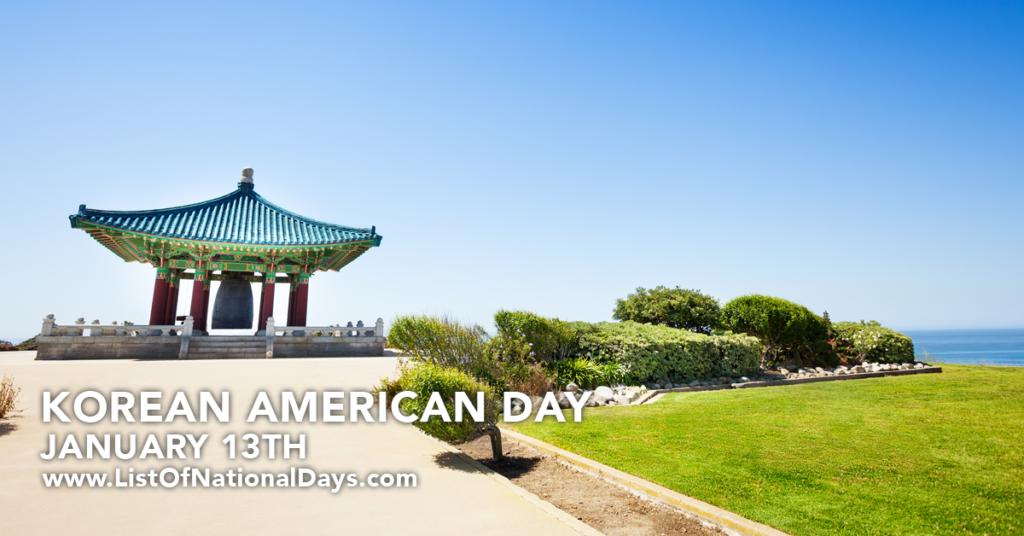 KOREAN AMERICAN DAY