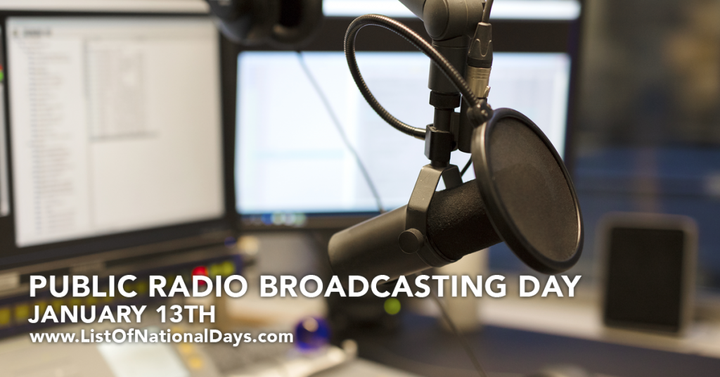 PUBLIC RADIO BROADCASTING DAY