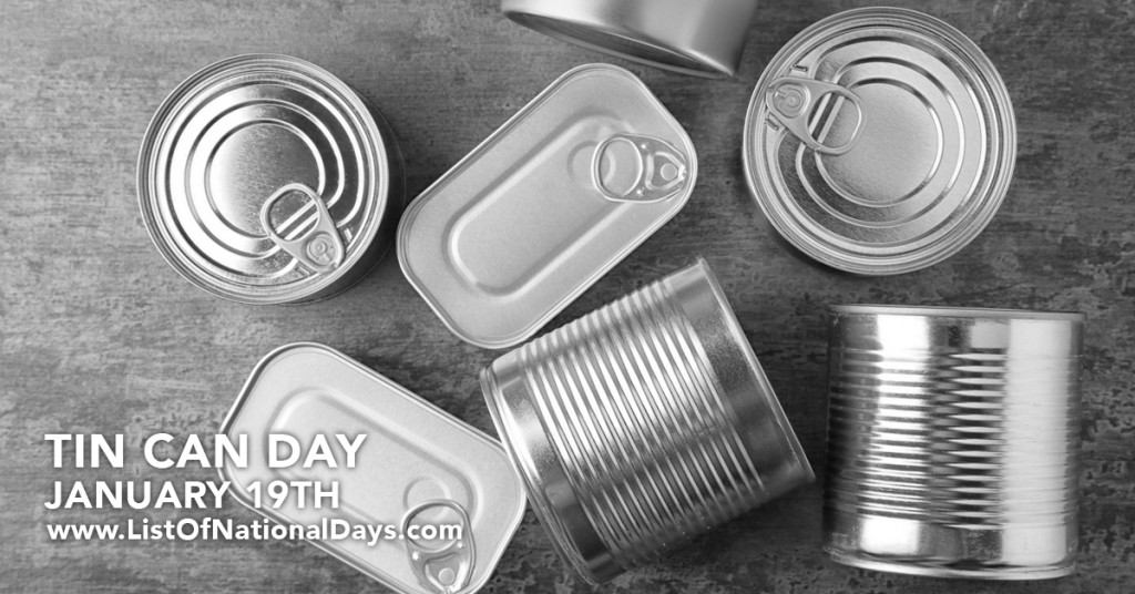 TIN CAN DAY