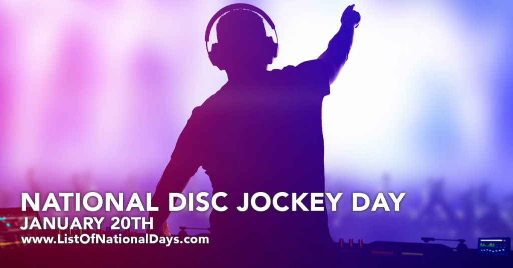 NATIONAL DISC JOCKEY DAY
