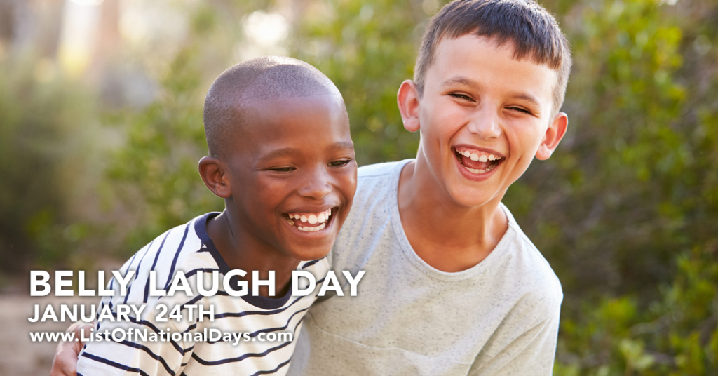 BELLY LAUGH DAY