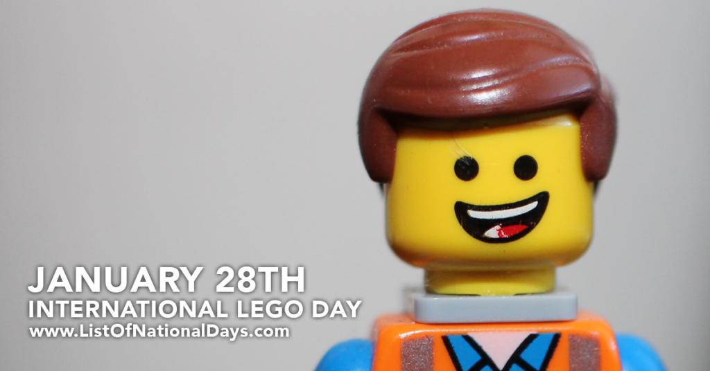 JANUARY 28TH INTERNATIONAL LEGO DAY