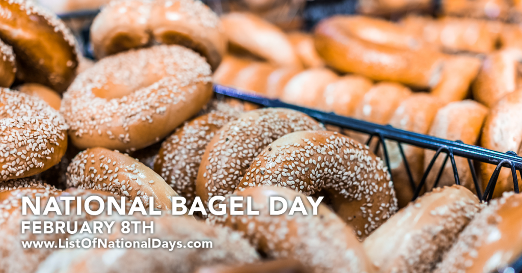 NATIONAL BAGEL DAY