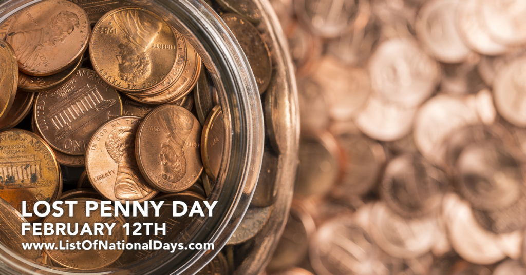 LOST PENNY DAY