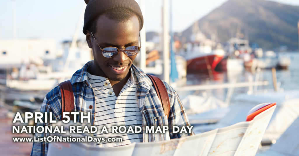 NATIONAL READ A ROAD MAP DAY
