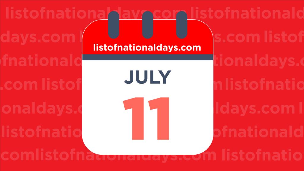 JULY 11TH