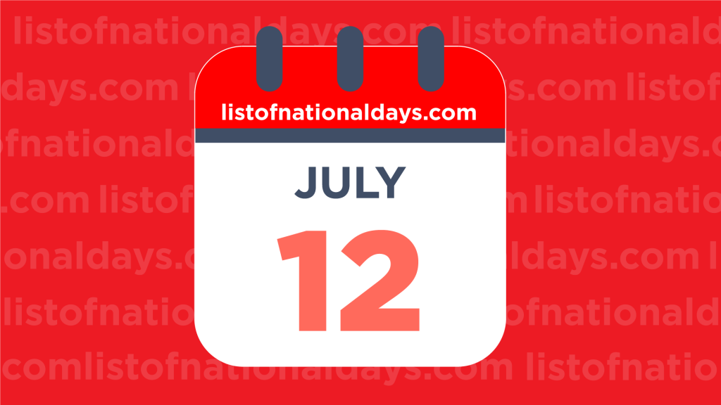 JULY 12TH