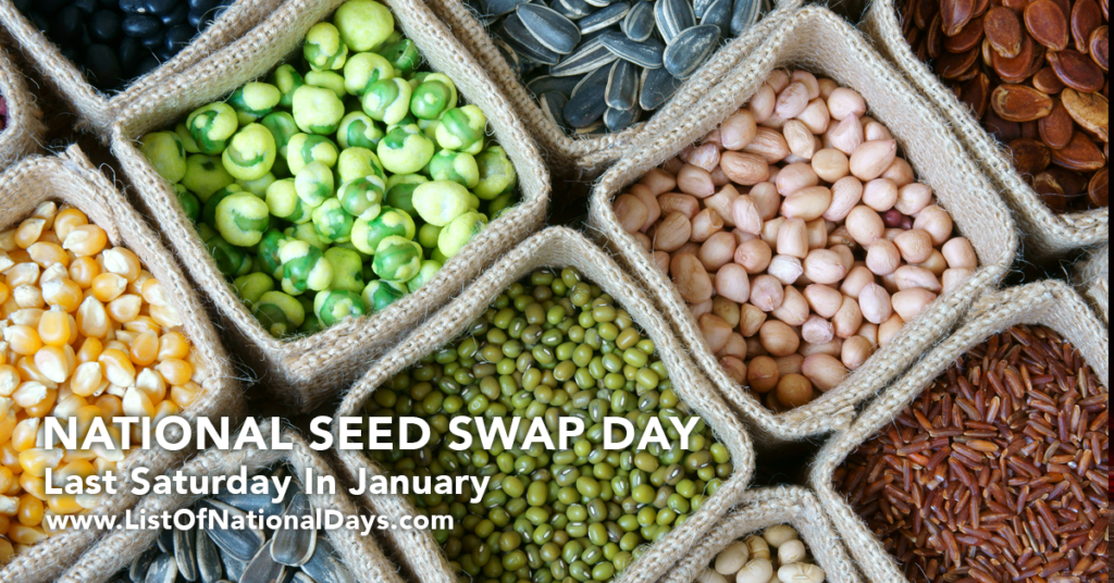 NATIONAL SEED SWAP DAY