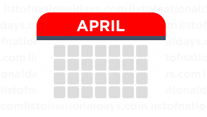 April List Of National Days