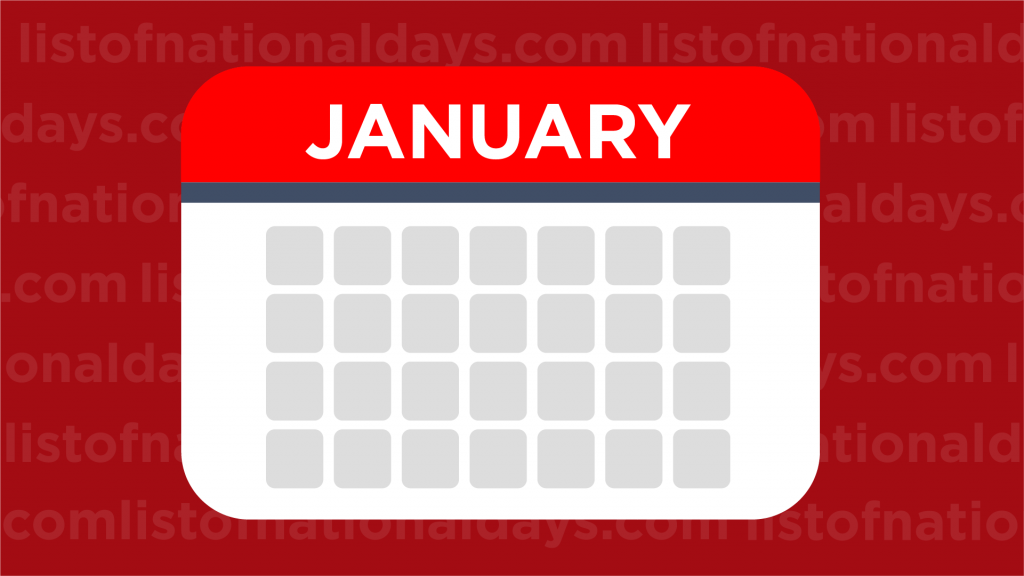 January List Of National Days