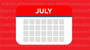 July List Of National Days