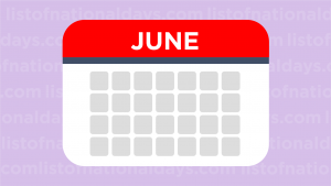 June List Of National Days