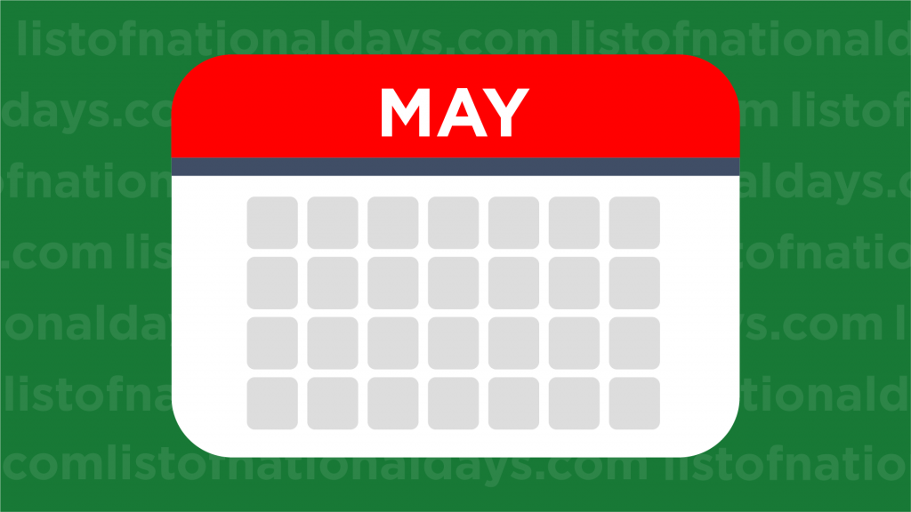 May List Of National Days